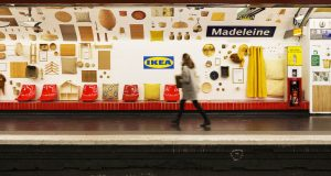 IKEA bringt Werbetafeln