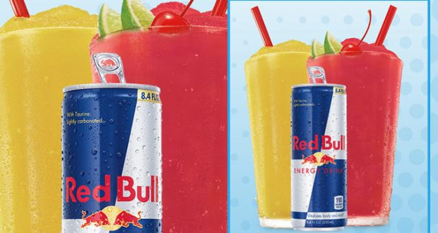 Red Bull Slushes
