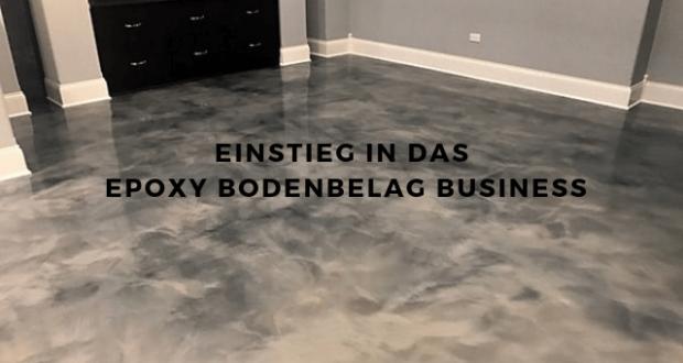 Epoxy Bodenbelag